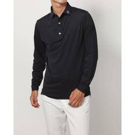 メンズ ゴルフ 長袖シャツ FJ-F20-S81選べるシャツ_ F21-S81 (ブラック)