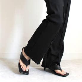 足袋ピンヒールサンダル (ブラック)