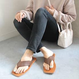 足袋ベタサンダル (ブラウン)