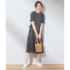 【抗菌加工】Tシャツ ワンピース (グレー系)