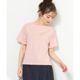 【THE Mコラボ】オーガビッツFモチーフ Tシャツ (ピンク系)