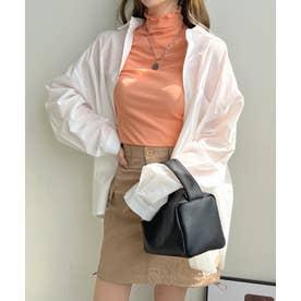 ワイドBIGシャツ (ホワイト)