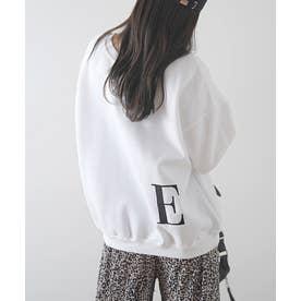 [前後2way]イニシャル刺繍BIGロゴプルオーバー (E)