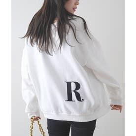[前後2way]イニシャル刺繍BIGロゴプルオーバー (R)
