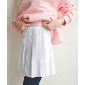 プリーツつけ裾 (ホワイト)