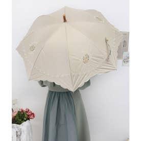ローズレースモチーフ刺繍日傘 (IVORY)
