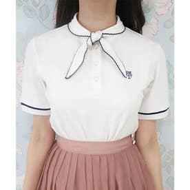 タイ付きポロシャツ (OFFWHITE)