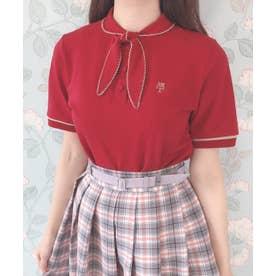タイ付きポロシャツ (RED)