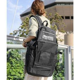 大容量6ポケットバックパック a3a4収納可能 (ブラック)