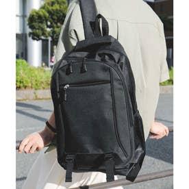 男女兼用A4サイズOK多機能バックパックリュックサック (ブラック)