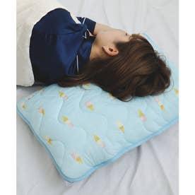 夏用フレスコ接触冷感枕カバー (アイス)