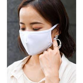 夏用 洗える 3D立体 高機能 マスク レディース 撥水/速乾/防臭【返品不可商品】 (オフホワイト)