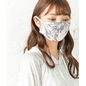 ひんやり冷感・紫外線UVカットマスク 2枚セット【返品不可商品】 (ボタニカル)
