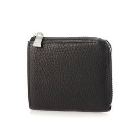 Coniglio コニーリオ Lファスナーミニ財布 (ブラック)