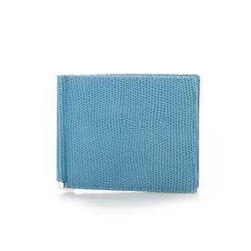 LIZARD C エフリザードC 財布 札バサミ (ブルー)