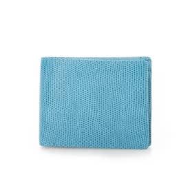 F LIZARD C エフリザードC 2つ折り財布 (ブルー)