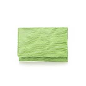 F LIZARD C エフリザードC メンズ 財布 小銭入れ コインケース (グリーン)