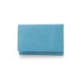 F LIZARD C エフリザードC メンズ 財布 小銭入れ コインケース (ブルー)