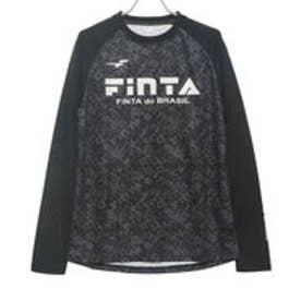 メンズ サッカー/フットサル 長袖シャツ ロングプラクティスシャツ FT8212