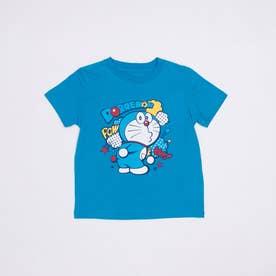 ジュニア 半袖Tシャツ ドラえもん KIDS ひょっこりTシャツ 22853203 (ブルー)