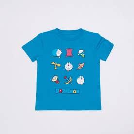 ジュニア 半袖Tシャツ ドラえもん KIDS アイテム整列Tシャツ 22853202 (ブルー)