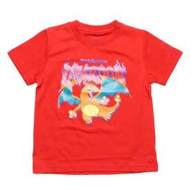 ジュニア 半袖Tシャツ ポケットモンスター KIDS リザードンGROOVY Tシャツ 22853205 (レッド)
