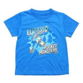 ジュニア 半袖Tシャツ ポケットモンスター KIDS ルカリオGROOVY Tシャツ 22853204 (ブルー)