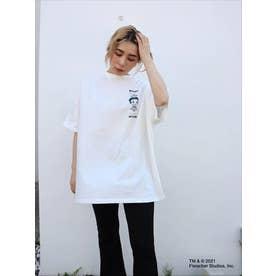 BETTYコラボROSE BIG-Tシャツ (WHT)