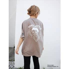 BETTYコラボハート BIG-Tシャツ (GRY)