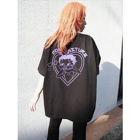 BETTYコラボハート BIG-Tシャツ (BLK)