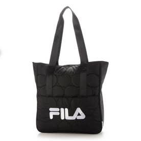 <FILA>キルティングトートバッグ (ブラック)