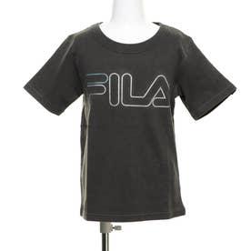 ジュニア 半袖Tシャツ FILA製品亜洗い半袖Tシャツ 110701