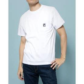 ポケ付きTシャツ (ホワイト)