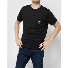 ポケ付きTシャツ (ブラック)