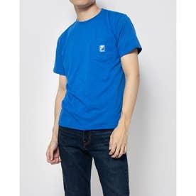 ポケ付きTシャツ (インクブルー)