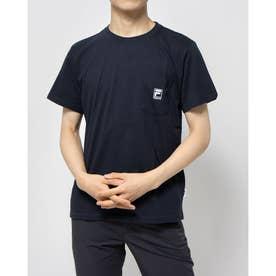 ポケ付きTシャツ (ネイビー)