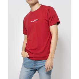 プリントTシャツ (レッド)