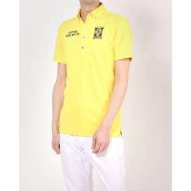 メンズ ゴルフ 半袖シャツ 半袖シャツ 741639A (イエロー)