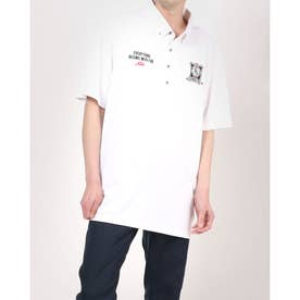 メンズ ゴルフ 半袖シャツ 半袖シャツ 741639A (ホワイト)