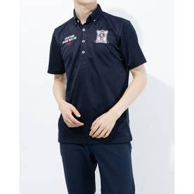 メンズ ゴルフ 半袖シャツ 半袖シャツ 741639A (ネイビー)