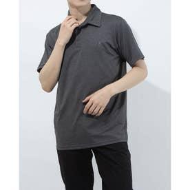 メンズ 半袖機能ポロシャツ FL-9A10041PS (グレー)