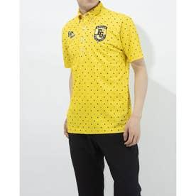 メンズ ゴルフ 半袖シャツ 半袖シャツ 741602 (イエロー)