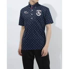 メンズ ゴルフ 半袖シャツ 半袖シャツ 741602 (ネイビー)