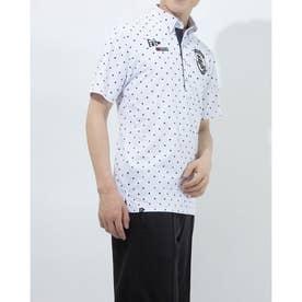 メンズ ゴルフ 半袖シャツ 半袖シャツ 741602 (ホワイト)