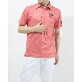 メンズ ゴルフ 半袖シャツ 半袖シャツ 741611 (ピンク)