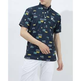 メンズ ゴルフ 半袖シャツ 半袖シャツ 741605 (ネイビー)