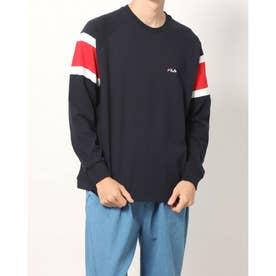メンズ 長袖Tシャツ FL-9C16541TL (ネイビー)