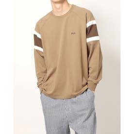 メンズ 長袖Tシャツ FL-9C16541TL (ベージュ)
