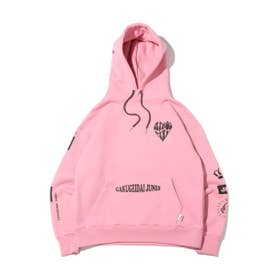 学芸大青春 × × atmos pink HOODIE (PINK)