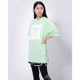チュールTシャツ (アクアブルー)